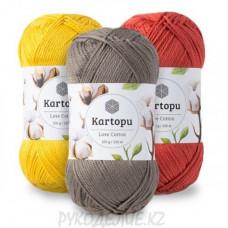 Пряжа Love Cotton Kartopu