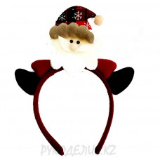 Ободок Дед Мороз