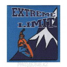"""Лейбл пришивной """"Extreme"""" 6,4*6,8см"""