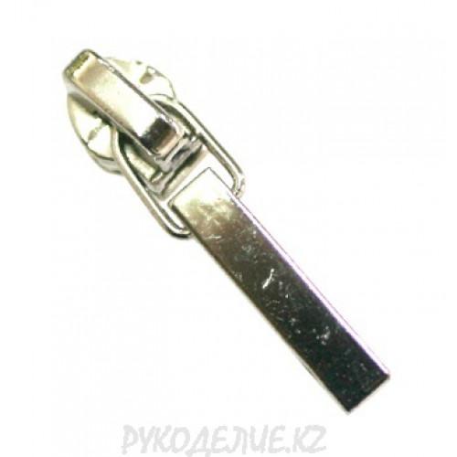 Бегунок для молнии металлический N3 GS-3112