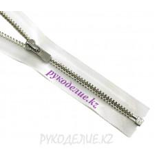 Молния металл разъемная №3 (40см, Никель глянец) YKK