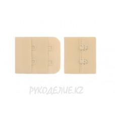 Застежка для бюстгальтера на тканевой основе в 2*2 ряда Angelica Fashion