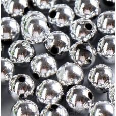 Бусины жемчуг пластиковые 14мм (9 штук)