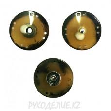 Кнопка пришивная металлическая MS K-23