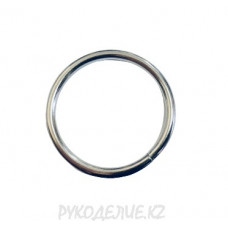 Фурнитура Кольцо металлическое разъемное d-25мм (один оборот) 3934 Angelica Fashion