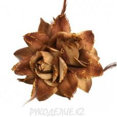 Брошь Цветок d-145мм