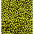 Бисер непрозрачный глянцевый 10/0 Preciosa 53430 - Оливковый