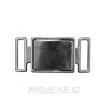 Пряжка камзольная металл нержавеющий МР-8086 30мм
