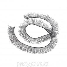 Реснички для глаз 8мм (1полоска)