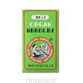 Иглы для промышленных швейных машин DP*5 №125 Organ needles №125, Зеленый