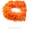 Боа пух 180см 020 - Оранжевый