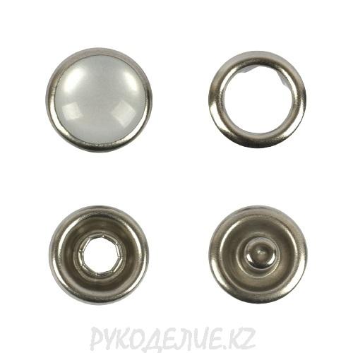 Кнопка рубашечные (жемчужина) нержавеющая сталь d-9мм Гамма
