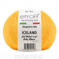 Пряжа Iceland Etrofil 70420 - Темно-желтый