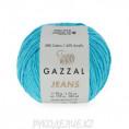 Пряжа Jeans Gazzal 1132 - Бирюзово-голубой