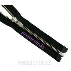 1-зам Молния металл №3 YKK  разъемная, никель глянец, 50 см