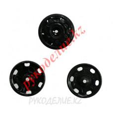 Кнопка пришивная KOH-I-NOOR (16мм, Черный)