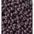 Бисер непрозрачный глянцевый 10/0 Preciosa 23040 - Сиренево-фиолетовый