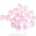 Бусины стекло граненое 8мм 16 - Розовый