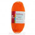 Пряжа Бамбуковая Троицкая 0493 - Ярко-оранжевый