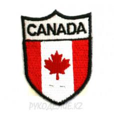 "Шеврон клеевой ""Canada"" 3,7*5см"