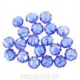 Бусины стекло граненое 10мм 09 - Синий