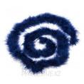 Боа пух 25гр S M 45 - Тёмно-синий