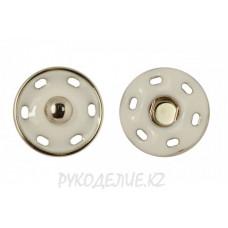 Кнопка пришивная металл с магнитом MS K-43