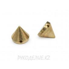 Шипы пришивные металлоимитация d-7,5 мм
