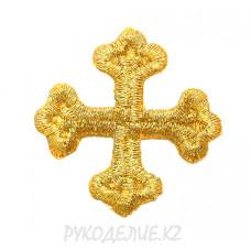 Термоаппликация Крест 3,5*3,5см