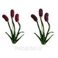 Брошь флора 7 - Лаванда цветная