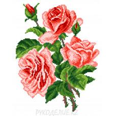 """Набор для вышивания крестом """"Розы"""" 17*22см Матренин Посад"""