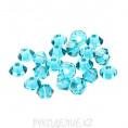 Бусины биконусы стекло 5328 6-d Swarovski 229 - Blue Zircon