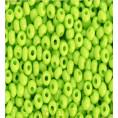 Бисер непрозрачный глянцевый 10/0 Preciosa 53310 - Салатовый