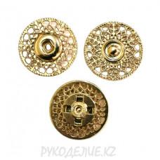 Кнопка пришивная металлическая MS K-26