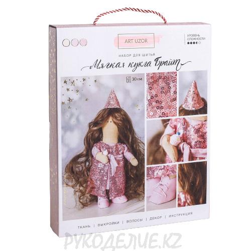 Интерьерная кукла Брайт набор для шитья 18*22,5*3см Арт Узор