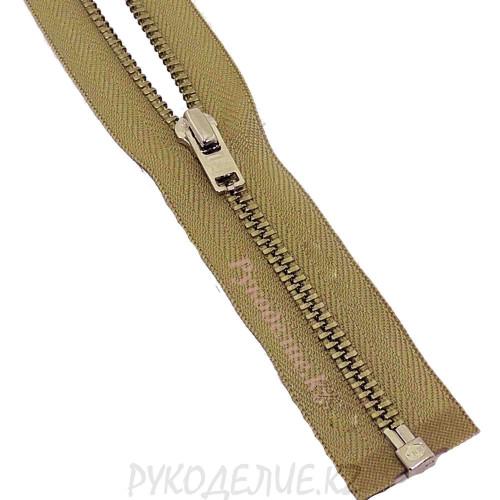 1-зам Молния металл №3 YKK разъемная, никель, 60 см