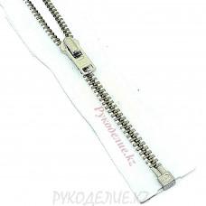 Молния металл разъемная №3 (70см, Никель) YKK