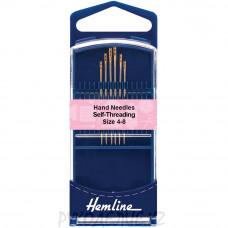 Набор ручных игл для слабовидящих (6шт) N4-8 Hemline