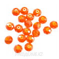 Бусины стекло граненое OPAL 8мм 23-1 - Оранжевый АВ