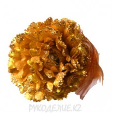 Брошь Цветок Гвоздика d-90мм