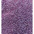 Бисер жемчужный прозрачный 10/0 Preciosa 26060 - Сиренево-розовый