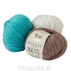 Пряжа Baby Wool XL Gazzal