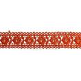 Кружево гипюр 3,5см SO10364 154 - Оранжевый