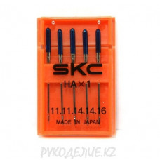 Набор игл для бытовых машин HA-1 N75-100 Ассорти SKC