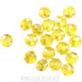 Бусины стекло граненое 10мм 85-1 - Светло-жёлтый АВ