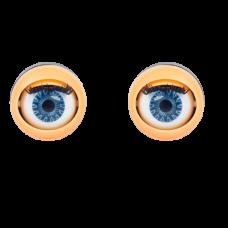 Глаз с ресничками моргающий 17мм