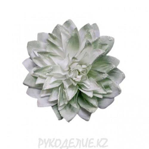 Брошь Цветок Хризантема d-90мм (св зел)