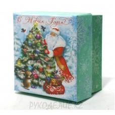 "Шкатулка ""Дед Мороз+елка"""