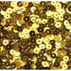 Пайетки 6 мм плоские
