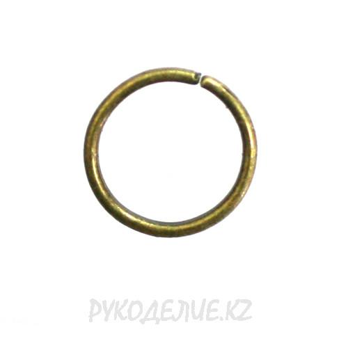 Кольцо для бус (1оборот) d-6мм (5шт)